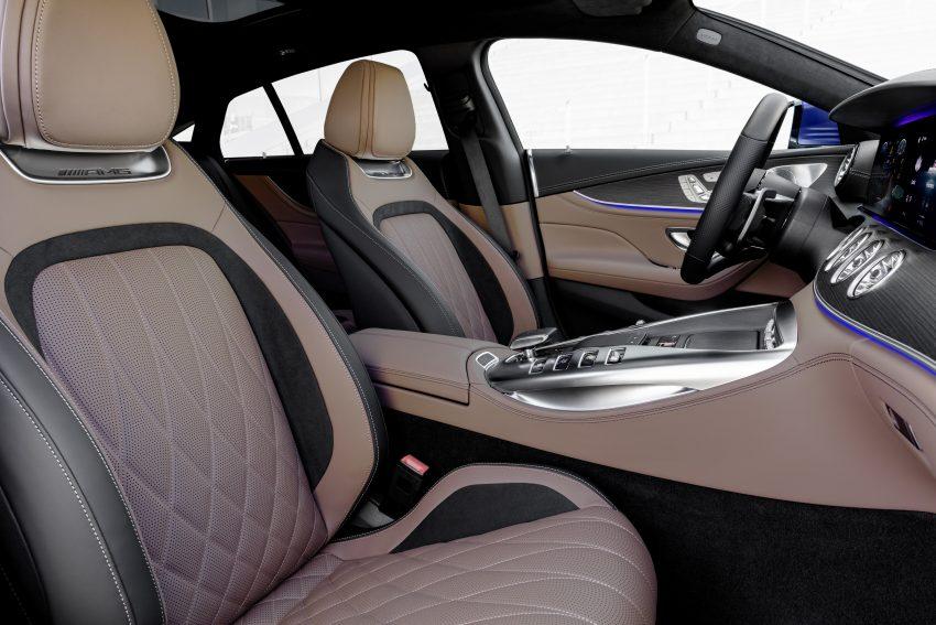 2022 Mercedes-AMG GT 4-Door Coupé 小改款官图发布 Image #156607