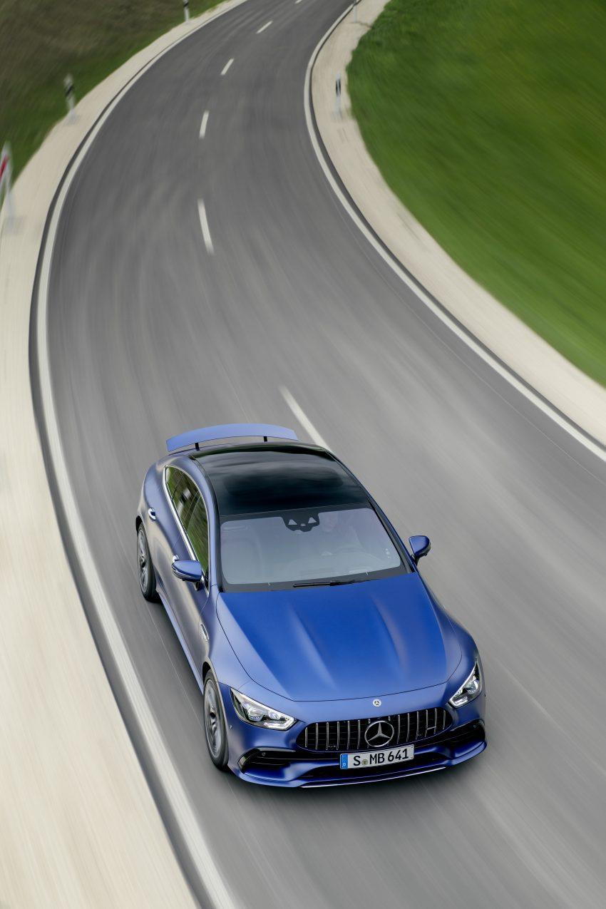 2022 Mercedes-AMG GT 4-Door Coupé 小改款官图发布 Image #156611