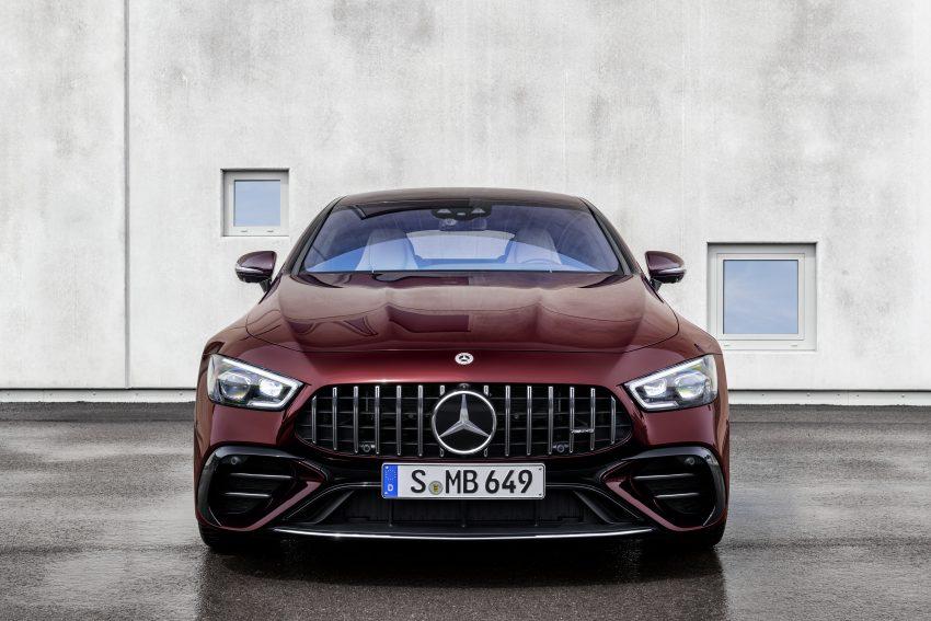 2022 Mercedes-AMG GT 4-Door Coupé 小改款官图发布 Image #156584