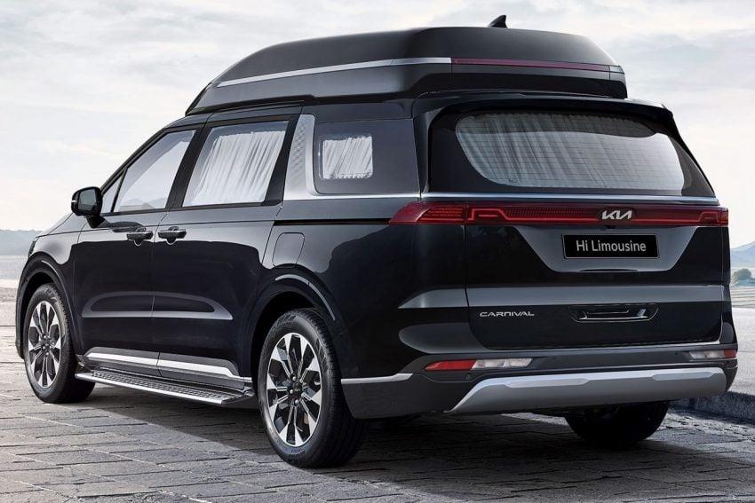 Kia Carnival Hi Limousine Premium Lounge 四人座豪华MPV韩国上市, 搭配足部按摩器, 售价仅Lexus LM的三分一 Image #157812