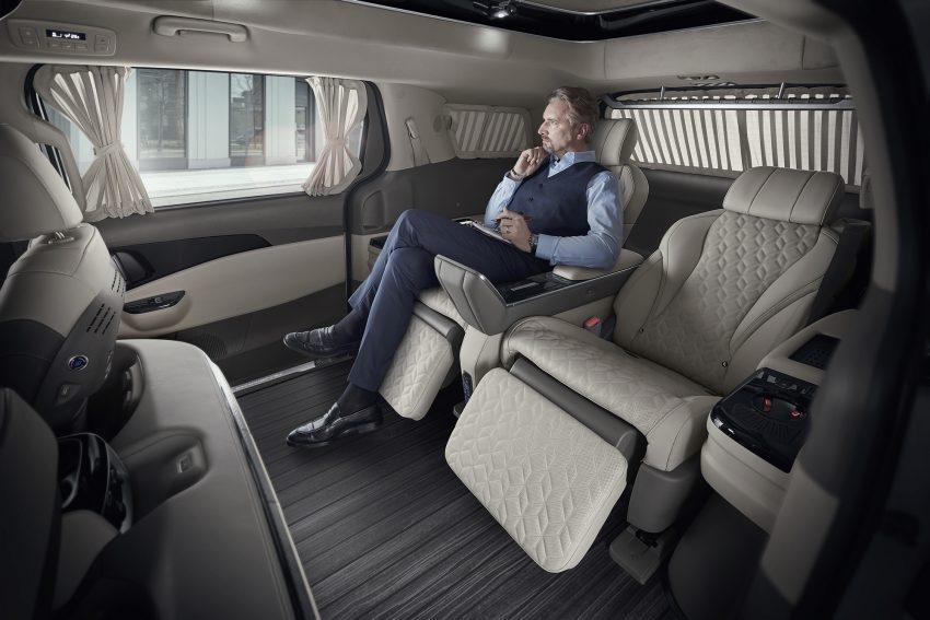 Kia Carnival Hi Limousine Premium Lounge 四人座豪华MPV韩国上市, 搭配足部按摩器, 售价仅Lexus LM的三分一 Image #157813