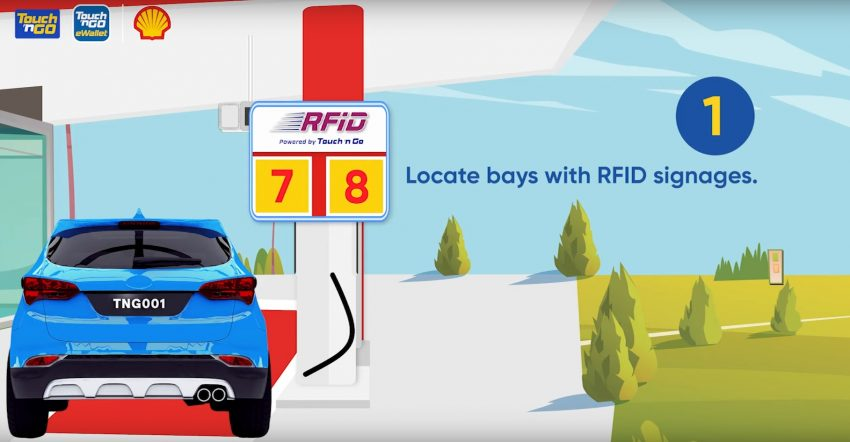 TnG RFID 添油服务开始试跑, 雪隆5家 Shell 油站可试用 Image #157796