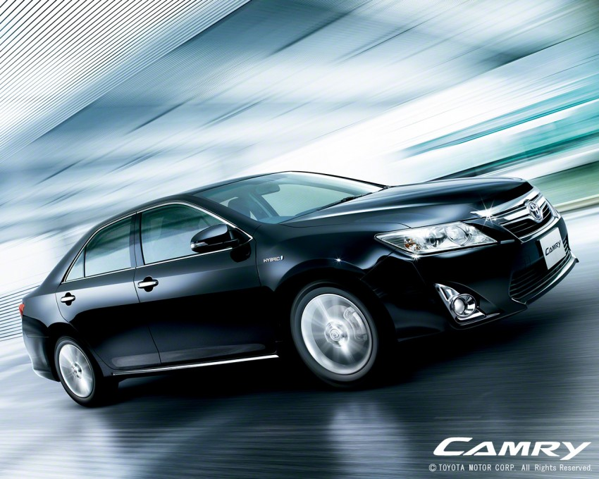 New generation Toyota Camry Hybrid launched in Japan! Image #67167
