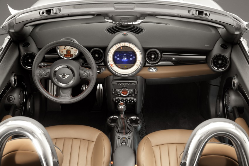 MINI Roadster – production drop top MINI Coupe unveiled! Image #74862