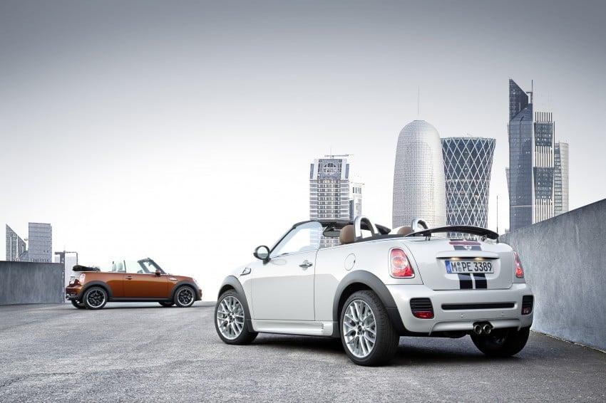 MINI Roadster – production drop top MINI Coupe unveiled! Image #74851