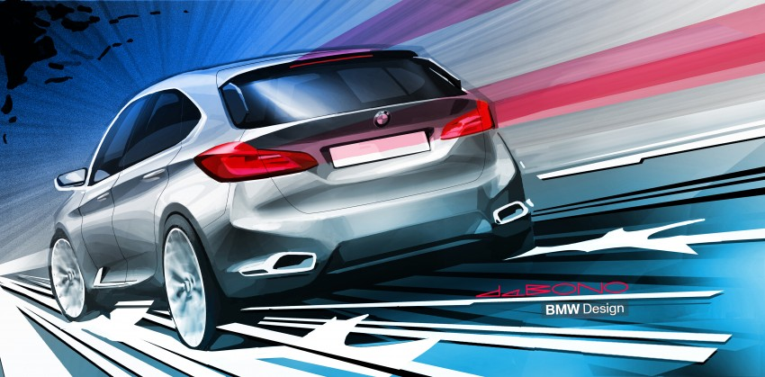 BMW Concept Active Tourer: Munich's B-Class competitor is front wheel drive! Image #131362