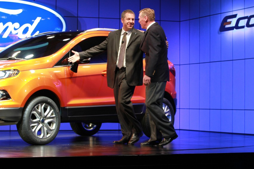 Ford EcoSport SUV debuts in Delhi Auto Expo – global offering to eventually enter around 100 markets Image #82170