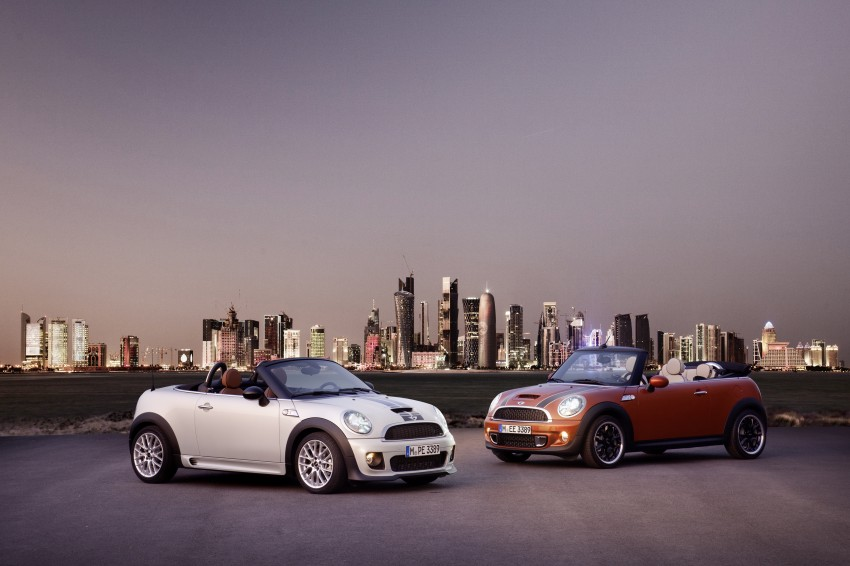 MINI Roadster – production drop top MINI Coupe unveiled! Image #74853