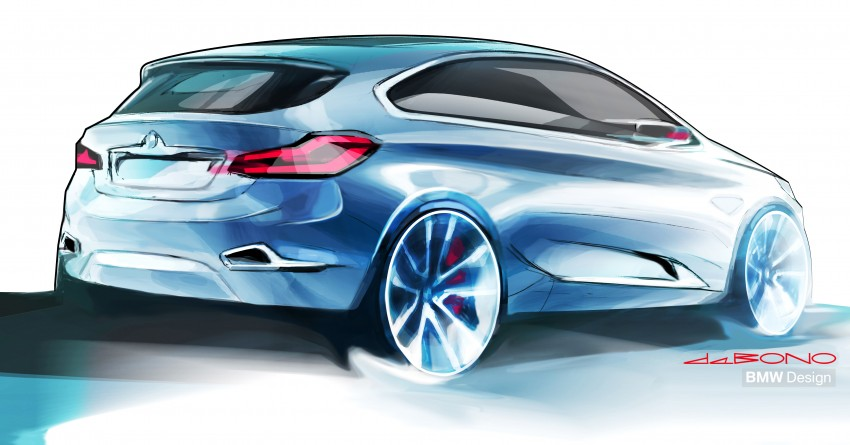 BMW Concept Active Tourer: Munich's B-Class competitor is front wheel drive! Image #131363