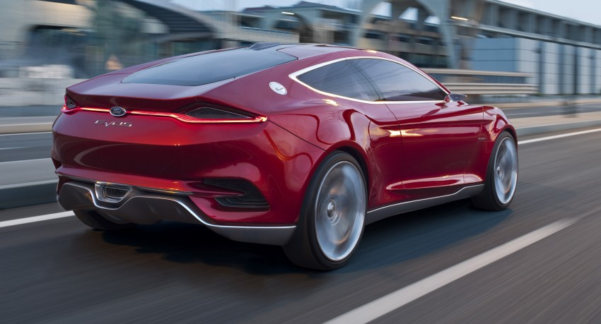 Ford Evos Concept – four seater fastback C-segment car Image #66724