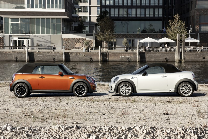 MINI Roadster – production drop top MINI Coupe unveiled! Image #74854