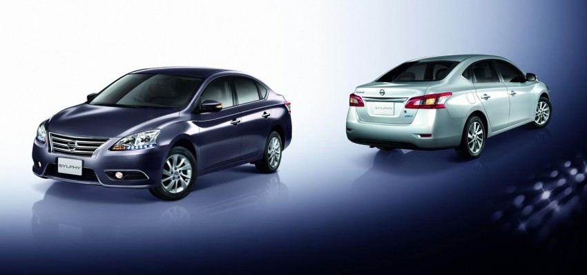 Nissan Sylphy launched in Thailand – new model gets improved 1.6, new 1.8, CVT; from 746,000 baht Image #127957