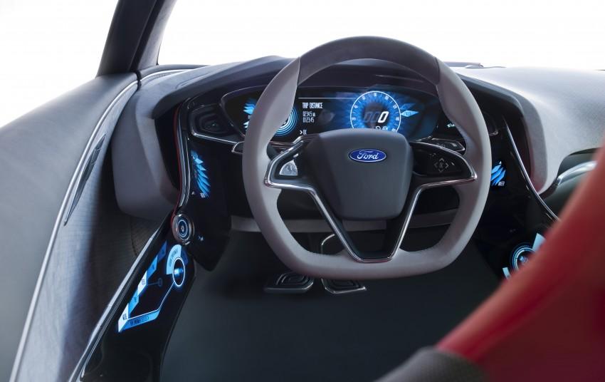 Ford Evos Concept – four seater fastback C-segment car Image #66725