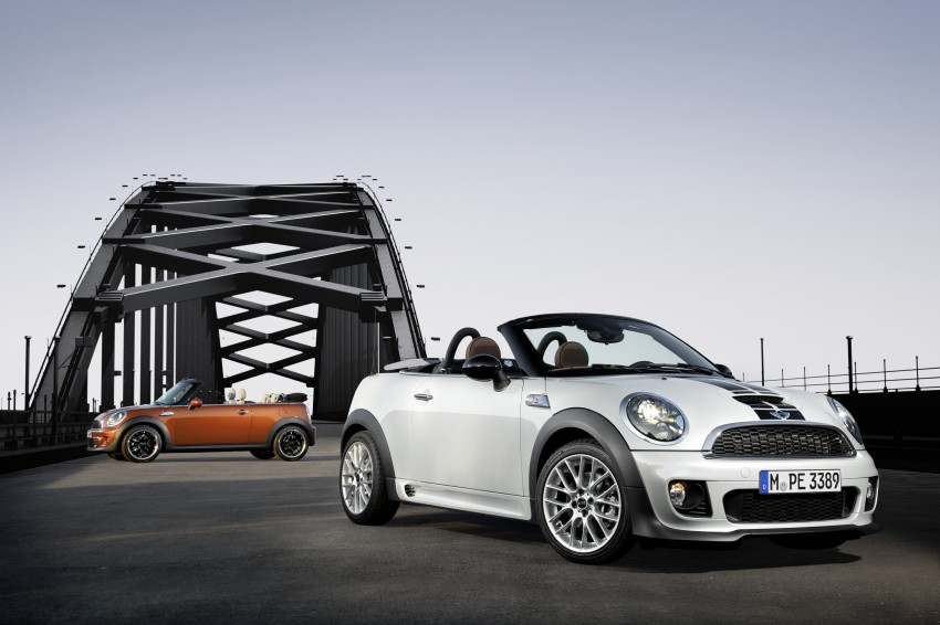 MINI Roadster – production drop top MINI Coupe unveiled! Image #74855