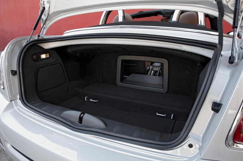 MINI Roadster – production drop top MINI Coupe unveiled! Image #74866