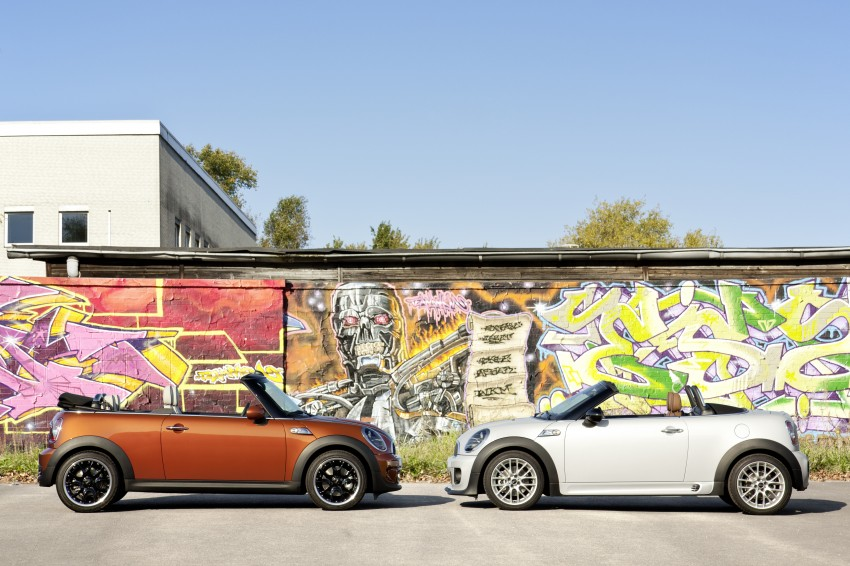 MINI Roadster – production drop top MINI Coupe unveiled! Image #74856