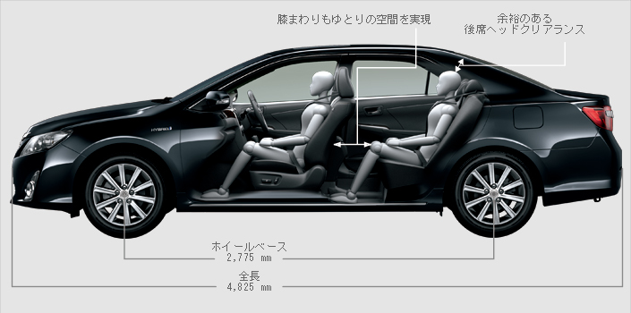 New generation Toyota Camry Hybrid launched in Japan! Image #67172