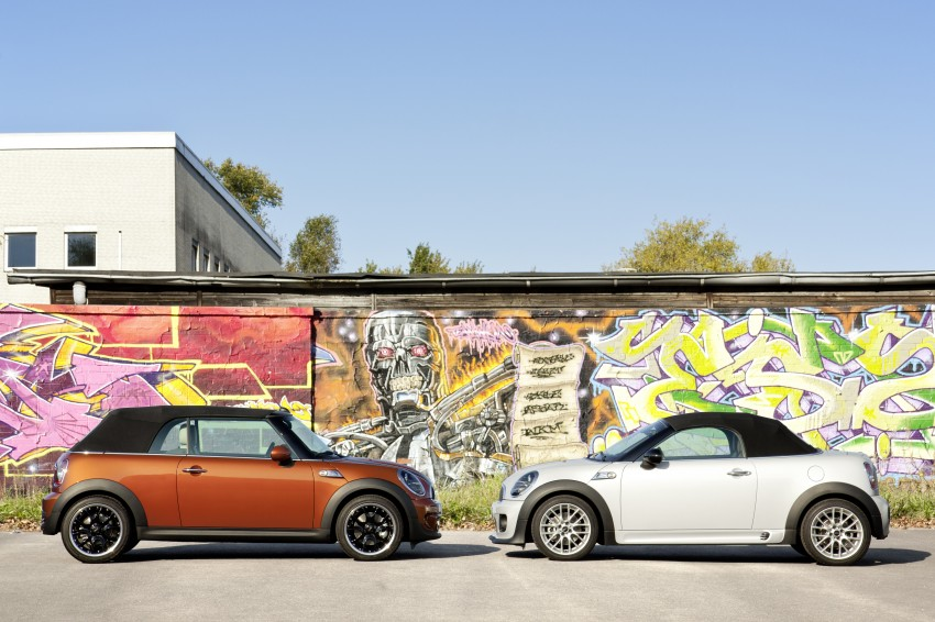 MINI Roadster – production drop top MINI Coupe unveiled! Image #74859