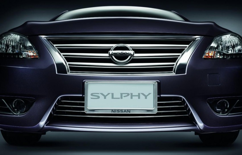 Nissan Sylphy launched in Thailand – new model gets improved 1.6, new 1.8, CVT; from 746,000 baht Image #127960