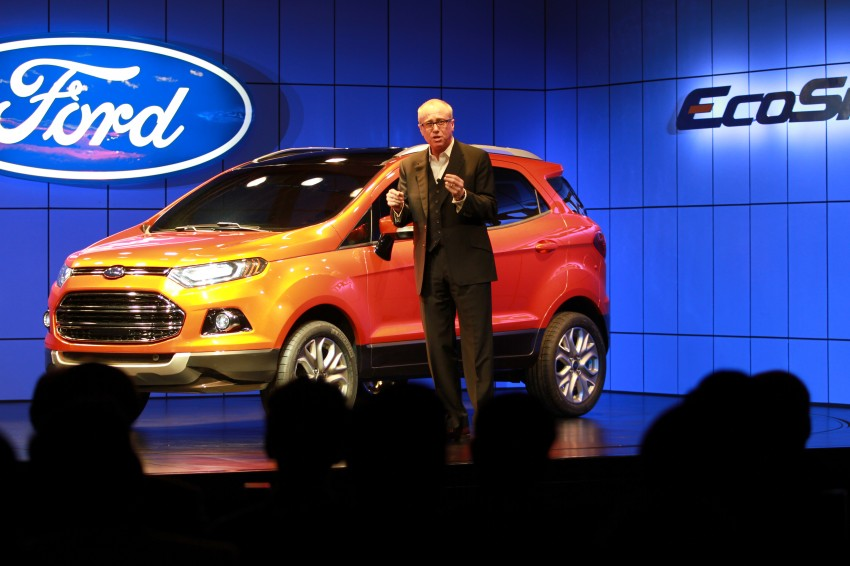 Ford EcoSport SUV debuts in Delhi Auto Expo – global offering to eventually enter around 100 markets Image #82175