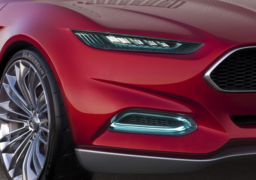 Ford Evos Concept – four seater fastback C-segment car Image #66728