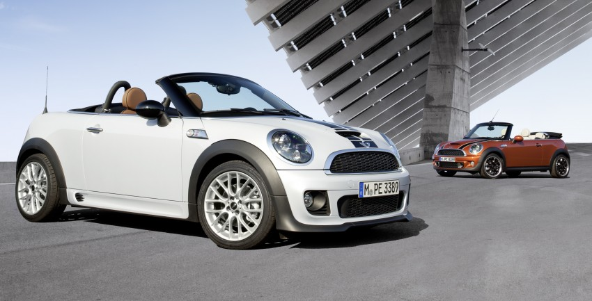 MINI Roadster – production drop top MINI Coupe unveiled! Image #74860