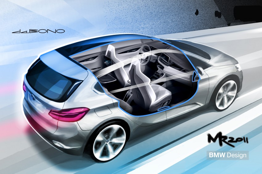 BMW Concept Active Tourer: Munich's B-Class competitor is front wheel drive! Image #131368