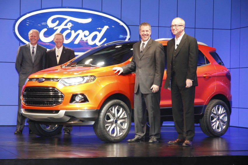 Ford EcoSport SUV debuts in Delhi Auto Expo – global offering to eventually enter around 100 markets Image #82176