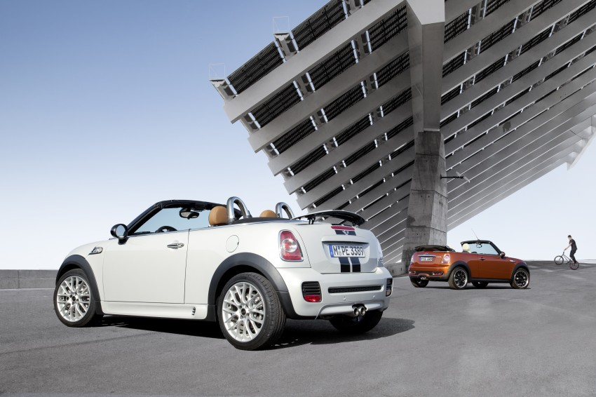 MINI Roadster – production drop top MINI Coupe unveiled! Image #74861