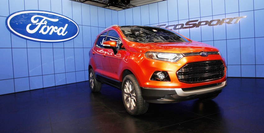 Ford EcoSport SUV debuts in Delhi Auto Expo – global offering to eventually enter around 100 markets Image #82177