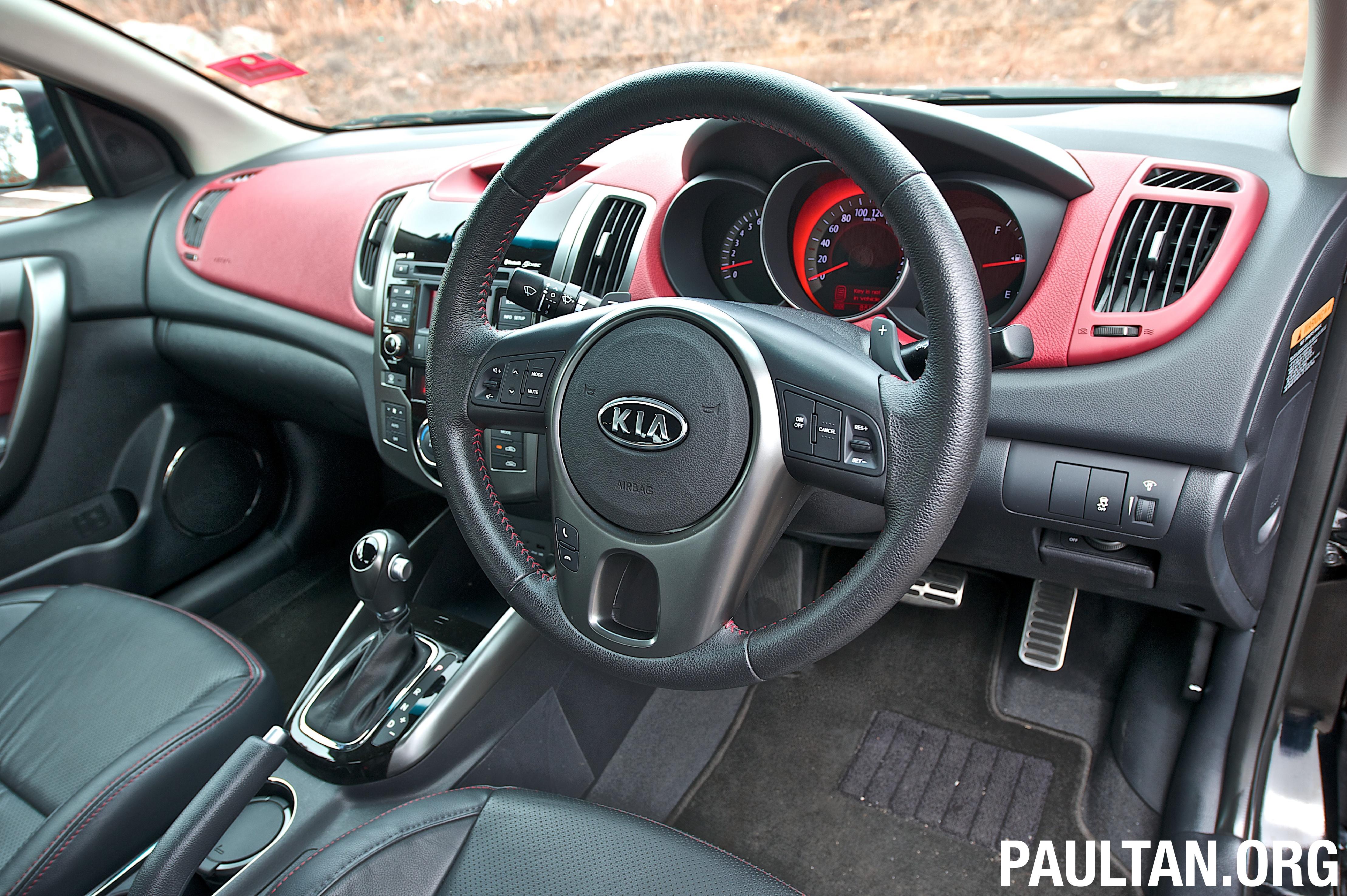 Kia Forte Koup Full Test Drive Review Paul Tan Image 91486