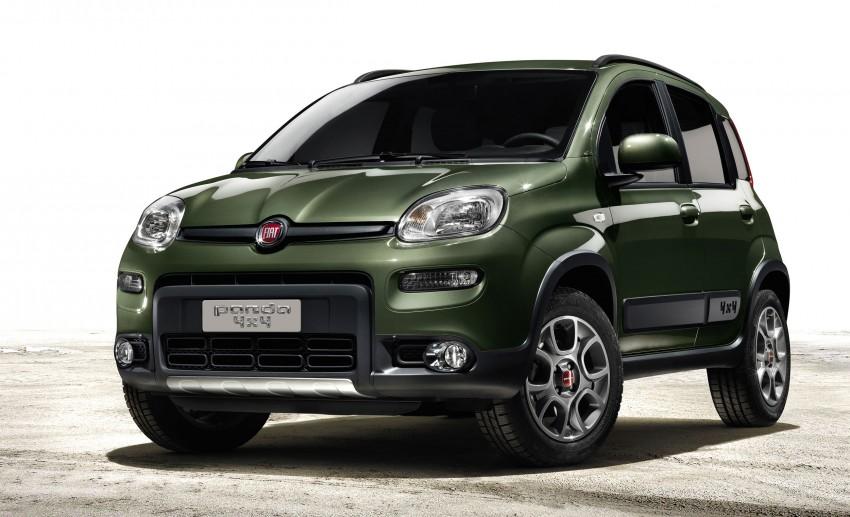 Fiat Panda 4×4 set for Paris Motor Show 2012 premiere Image #128308