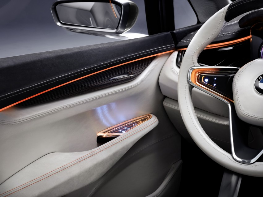 BMW Concept Active Tourer: Munich's B-Class competitor is front wheel drive! Image #131370