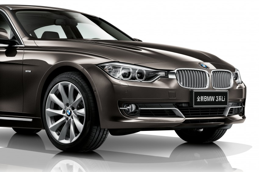 Long wheelbase BMW 3-Series – made in China for China Image #99542
