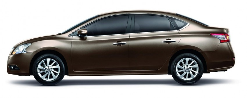 Nissan Sylphy launched in Thailand – new model gets improved 1.6, new 1.8, CVT; from 746,000 baht Image #127964
