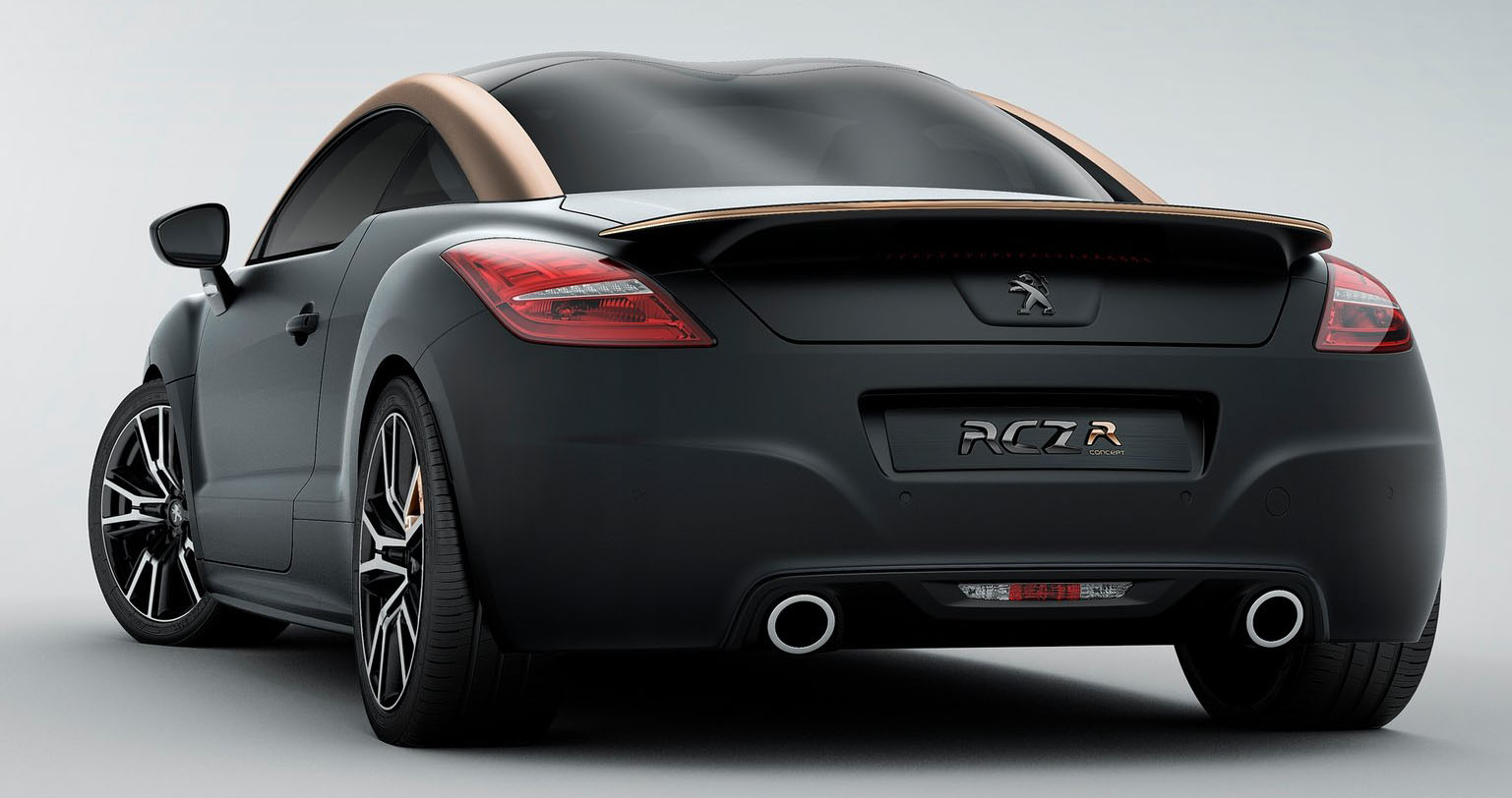 peugeot rcz r 260 hp most powerful pug yet image 130905