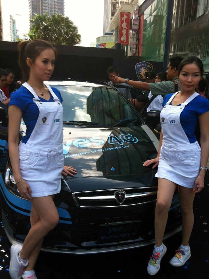 Yes 4G Proton Inspira unveiled at Bukit Bintang – and you can win it and other prizes in an online contest! Image #89108