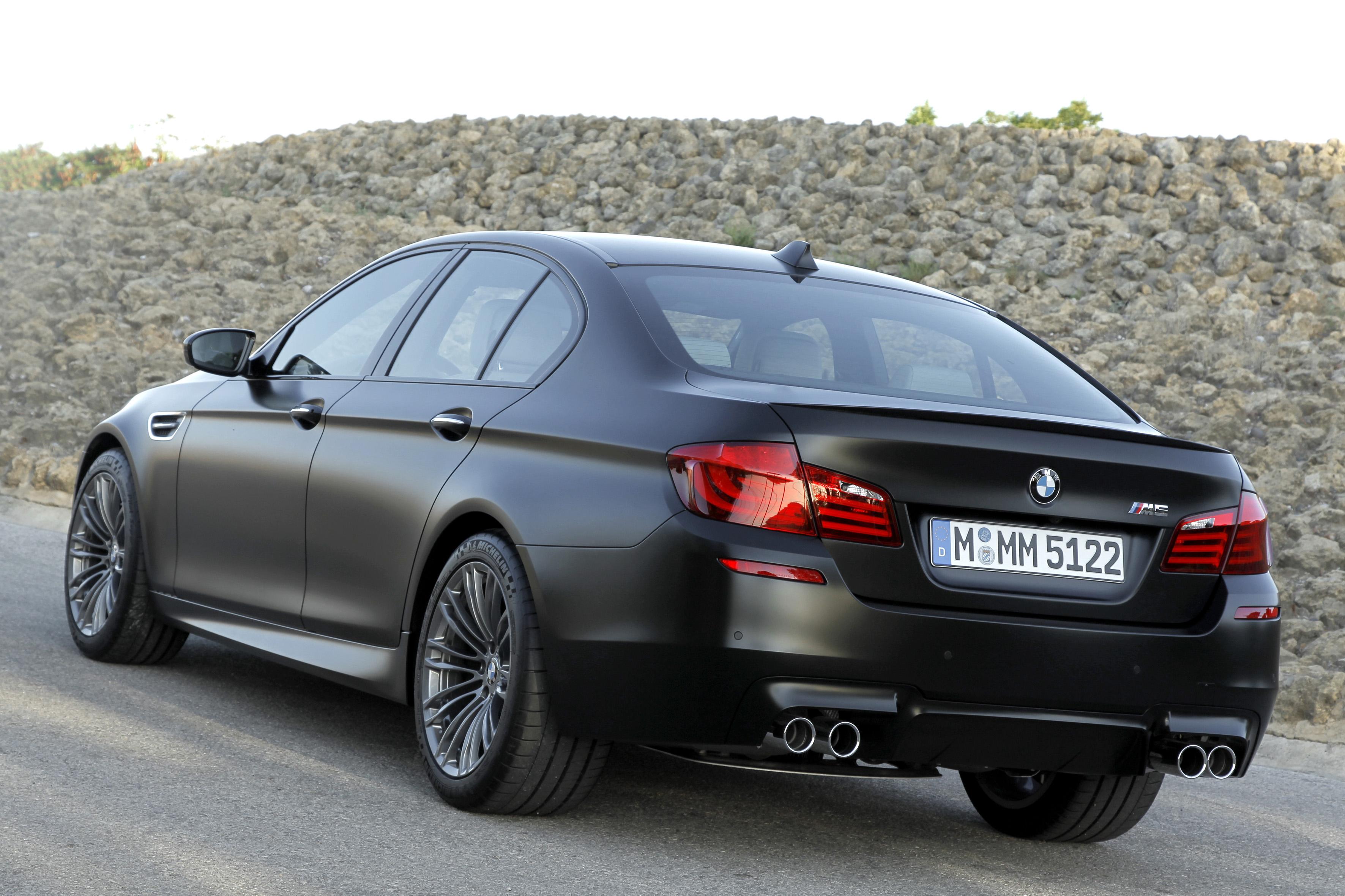 2018 Bmw M5 >> F10 BMW M5 showcased in Frozen Black matte paintjob Paul Tan - Image 72042