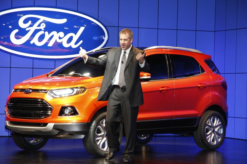 Ford EcoSport SUV debuts in Delhi Auto Expo – global offering to eventually enter around 100 markets Image #82180