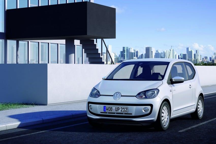Volkswagen up! – production car debut at Frankfurt 2011 Image #69835