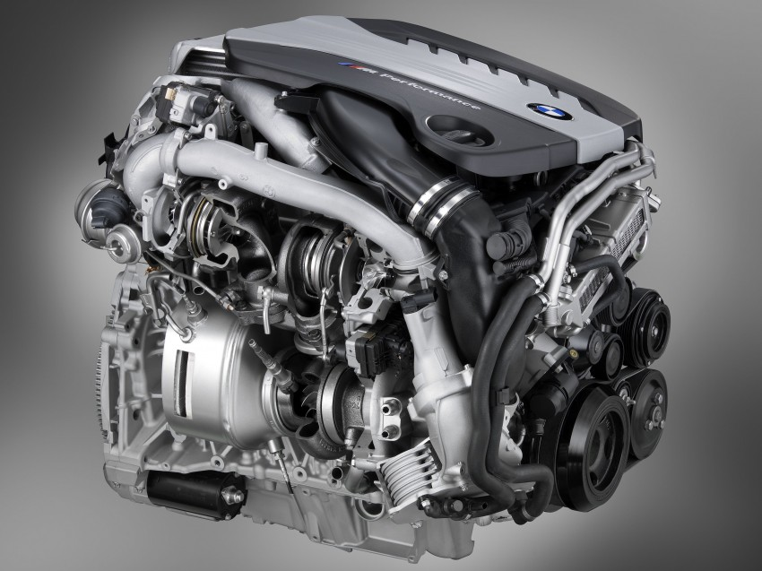 BMW M Performance Automobiles: tri-turbo diesel trio F10 BMW M550xd, BMW X5 M50d and BMW X6 M50d! Image #95811
