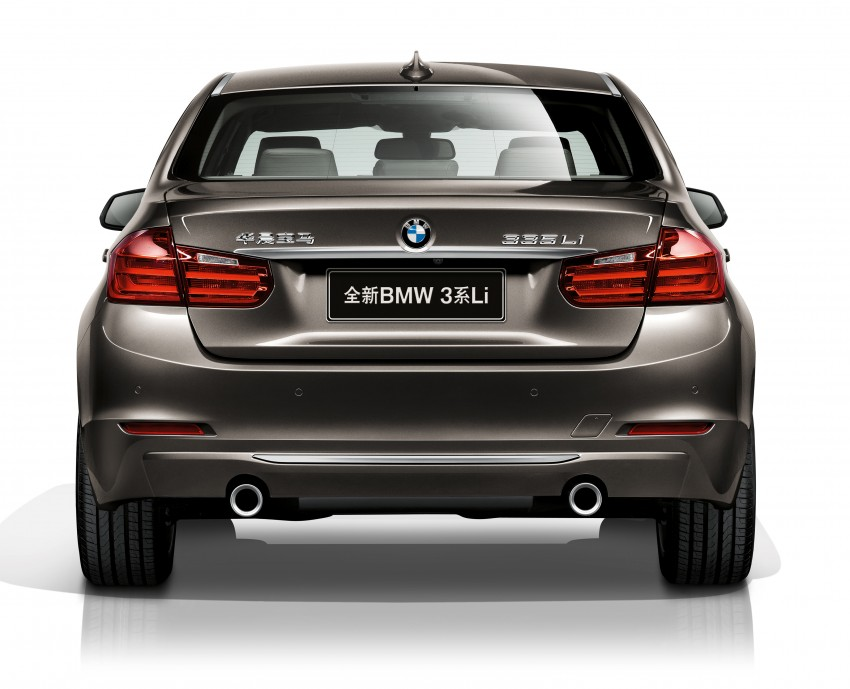 Long wheelbase BMW 3-Series – made in China for China Image #99543