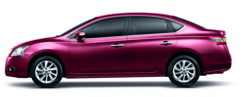 Nissan Sylphy launched in Thailand – new model gets improved 1.6, new 1.8, CVT; from 746,000 baht Image #127968