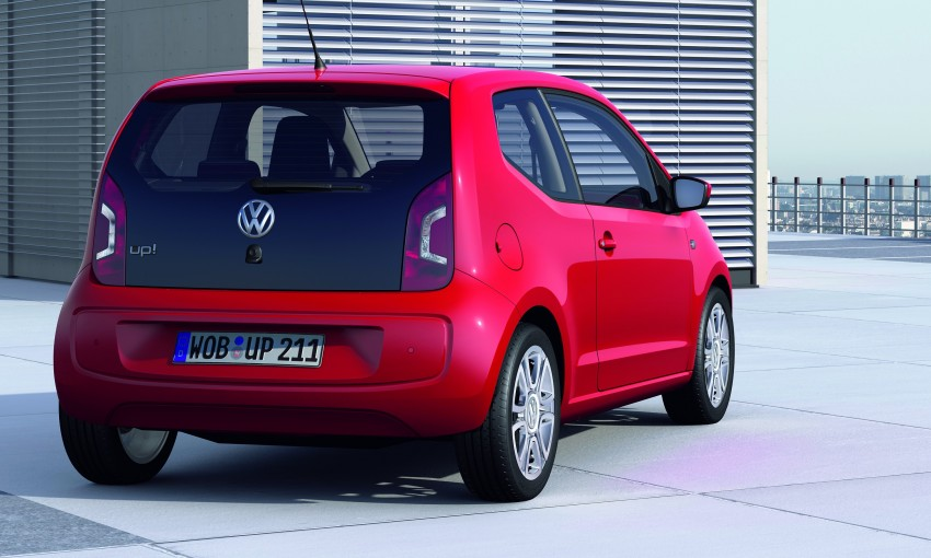 Volkswagen up! – production car debut at Frankfurt 2011 Image #69837
