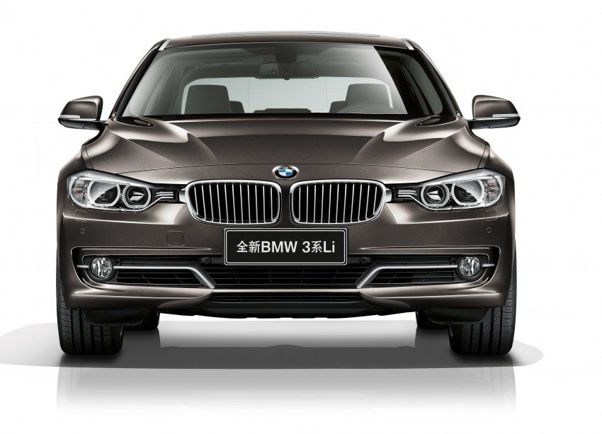 Long wheelbase BMW 3-Series – made in China for China Image #99545