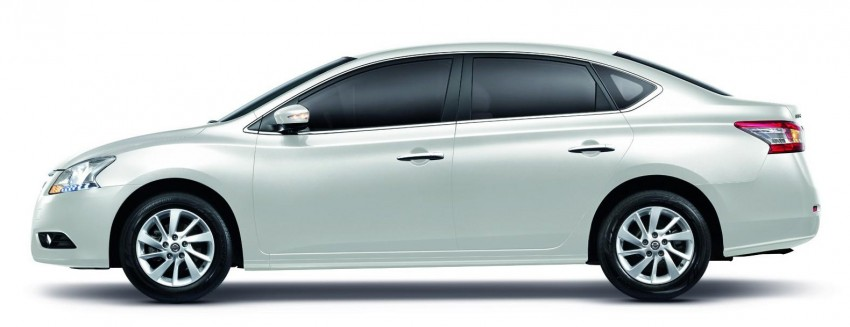 Nissan Sylphy launched in Thailand – new model gets improved 1.6, new 1.8, CVT; from 746,000 baht Image #127969