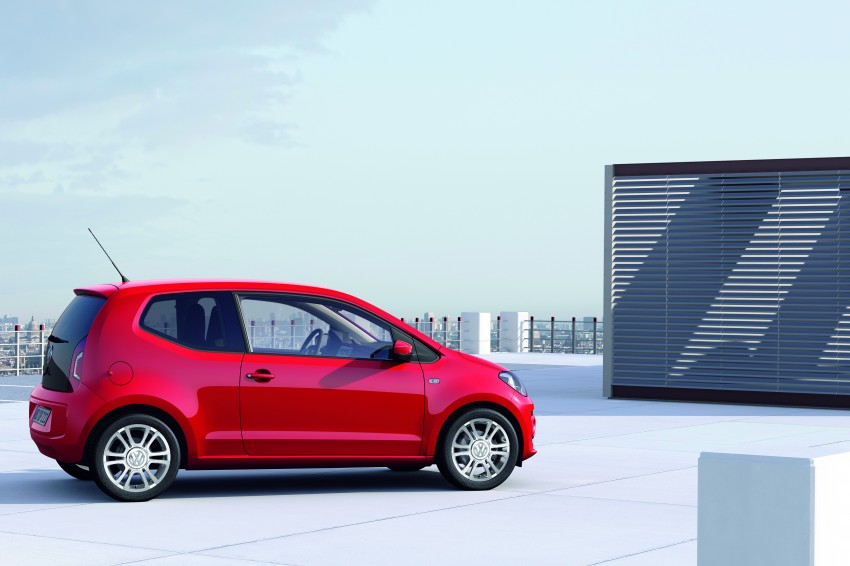 Volkswagen up! – production car debut at Frankfurt 2011 Image #69838