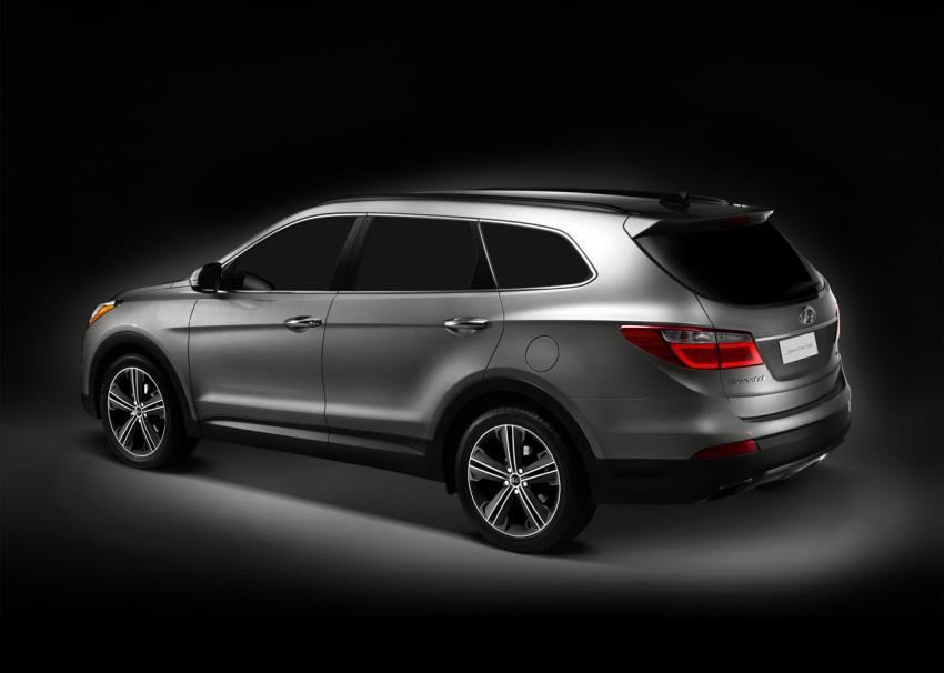 Hyundai Santa Fe – two wheelbase options for third-gen Image #99413