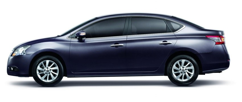 Nissan Sylphy launched in Thailand – new model gets improved 1.6, new 1.8, CVT; from 746,000 baht Image #127970