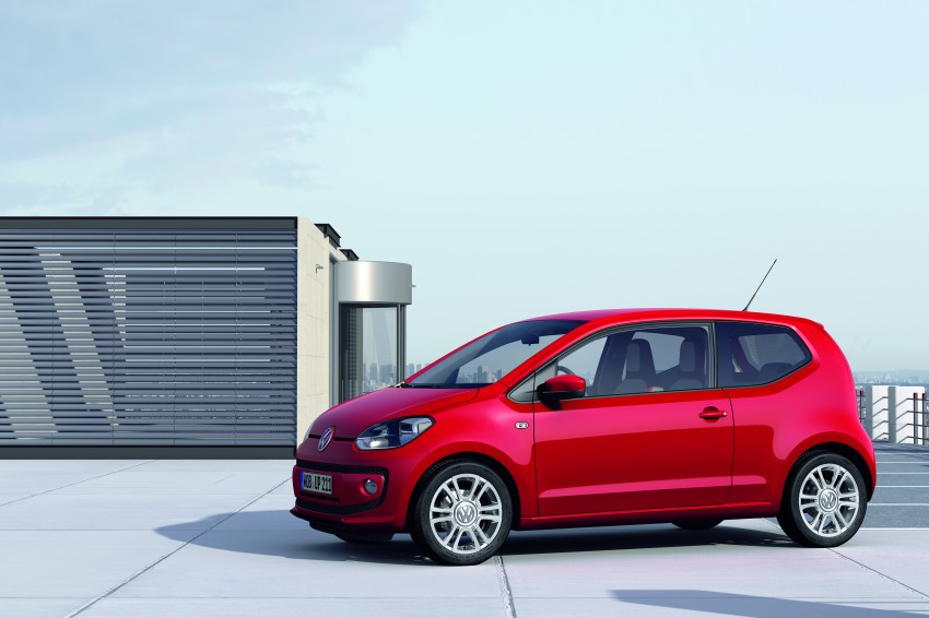 Volkswagen up! – production car debut at Frankfurt 2011 Image #69839